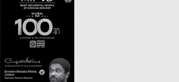 Egresso do Bacharelado em Física da UFPB está entre as 100 mais Influentes Personalidades Negras do Mundo